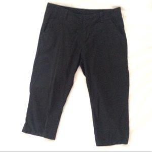 Columbia Black Capri Pants Size 8
